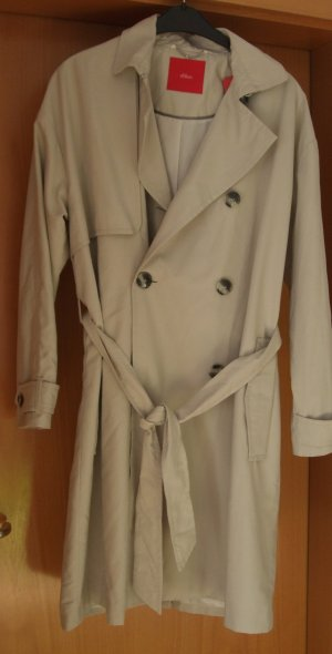 s.Oliver Trenchcoat licht beige Polyester