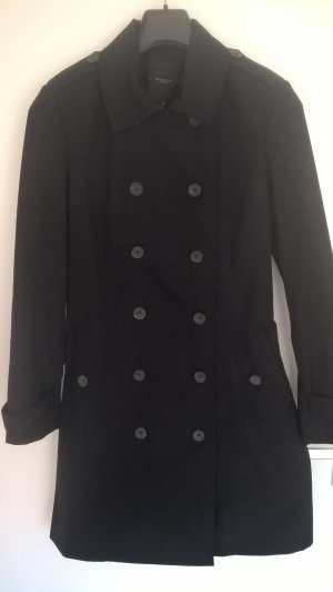 Trenchcoat von Selected Femme in schwarz