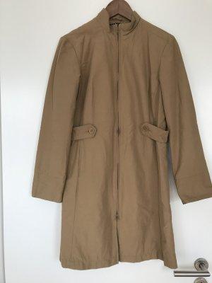 Sisley Long Jacket camel cotton