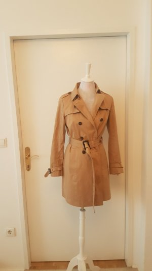 Zara Trenchcoat multicolore fibre synthétique