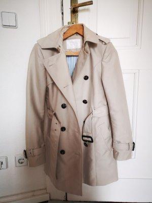 Zara Trenchcoat licht beige Polyester