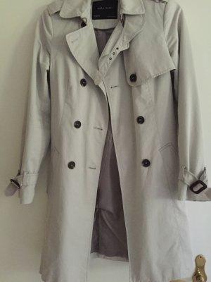 Trenchcoat Zara Burberry-Look beige stone