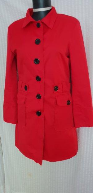 Kombiworld Trenchcoat rouge coton