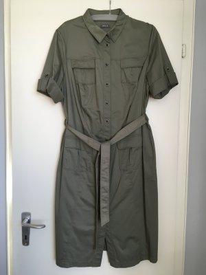 Basler Robe à manches courtes multicolore coton