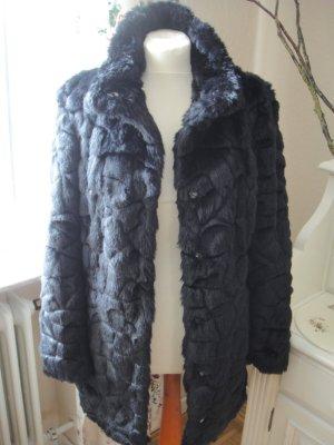 Orsay Giacca di pelliccia nero
