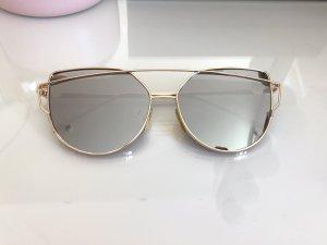 Oval Sunglasses silver-colored-gold-colored