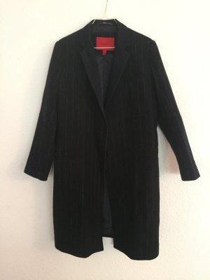 Mango Suit Wollen jas donkerblauw Wol