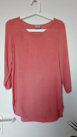 TREND-FARBE: VERO MODA Bluse / Shirt in apricot | Gr. S