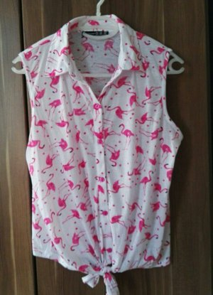 Trend: Flamingo Bluse
