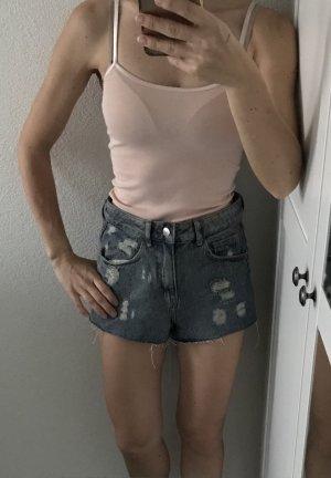 Trend Jeans Shorts Taillenshorts Destroyed top wie neu H&M Gr. 34