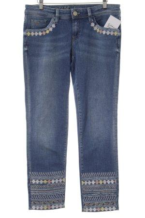 Trend Line 3/4 Jeans blau Casual-Look