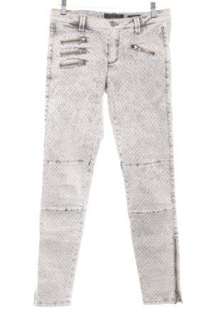 Trend Line Slim Jeans hellgrau-goldfarben meliert Casual-Look