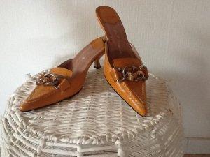 Friis & Company Sandalo con tacco multicolore Pelle