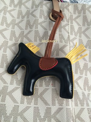 Key Chain multicolored imitation leather