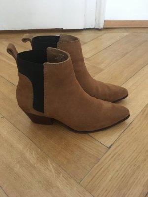 Trend Stiefel Stiefeletten H&M 38 Wildleder