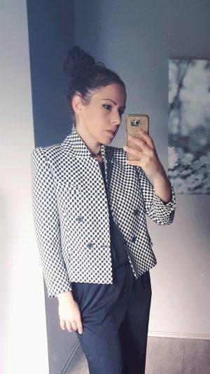 Trend Zara Smoking Jacket Gr XS Jacke edel Blazer Smokingjacke weiss schwarz