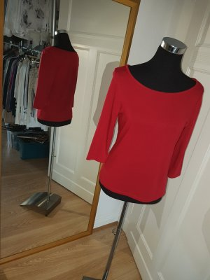 H&M Top basic rosso