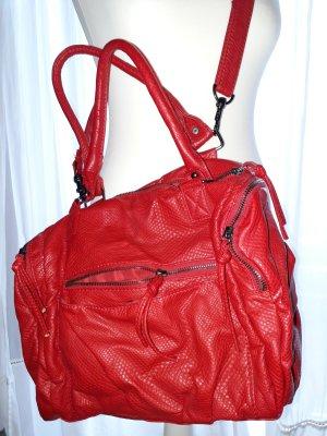 Trendfarbe rot - Handtasche Allrounder