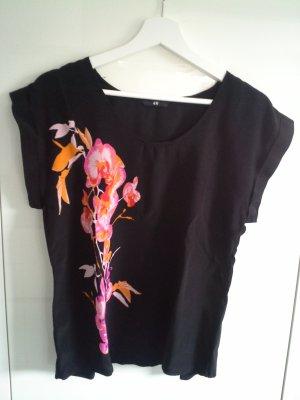 Trendig leichte Bluse mit floralem Muster