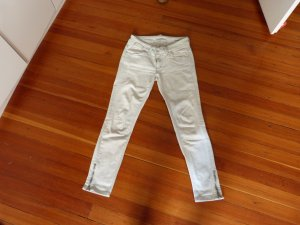 Trendige 7/8 Jeans mit Reißverschlüssen