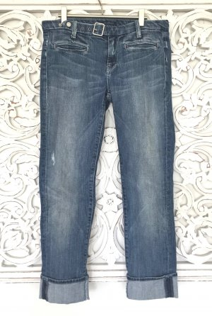 trendige 7/8-Jeans von 7 for all mankind * used look * Gr. 27