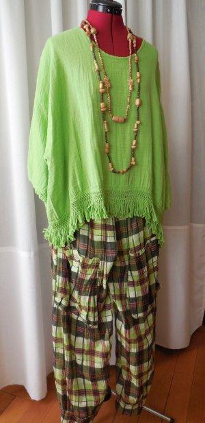 Trendige Ballon Hose Gr.S/M von Sarah Santos plus Shirt/Blusencape Gr.S/M