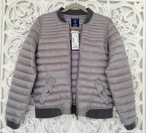 Tom Tailor Bomber Jacket silver-colored polyester