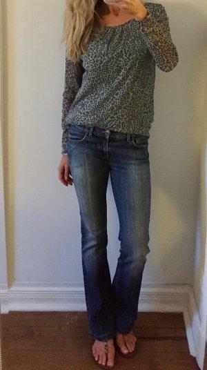 Replay Jeans bootcut bleu coton