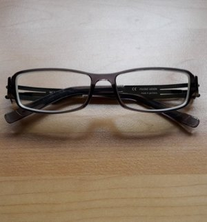 Glasses grey-anthracite