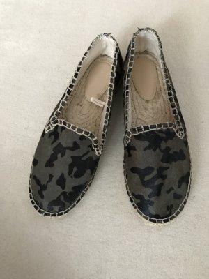 Zara Basic Espadrille sandalen veelkleurig