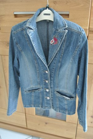 Denim Jacket multicolored cotton