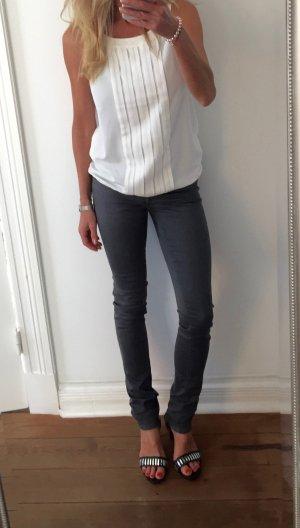 trendige dunkelgraue DIESEL Jeans LIVIER * Slim Fit * Gr. 27 * NEU