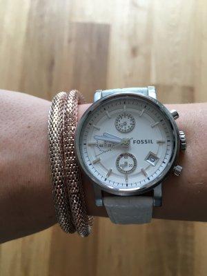Trendige Fossil Uhr mit großem Ziffernblatt