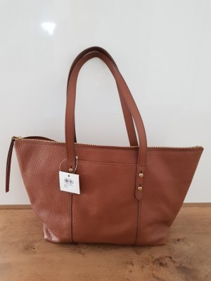 Trendige Fossiltasche in medium brown Modell Jenna Tote Medium Brown