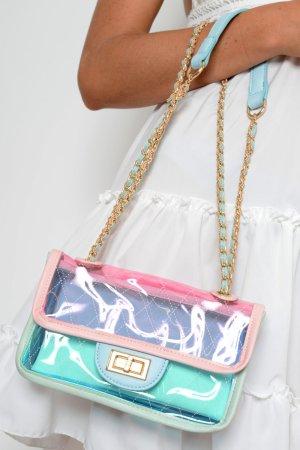 Trendige Handtasche Durchsichtig