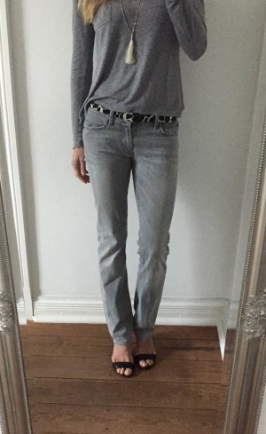 trendige hellgraue Jeans von 7 Seven for all Mankind * straight leg * Gr. 27