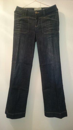 trendige Jeans mit weitem Bein von Closed (Größe 28)