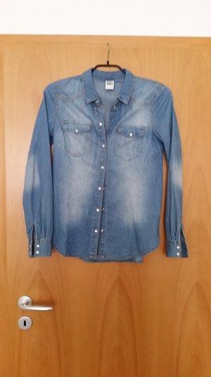 Trendige Jeansbluse - NEUWERTIG