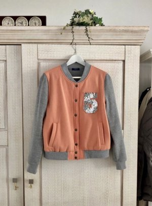 Conleys College Jacket light grey-apricot