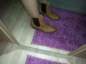 Trendige Schuhe von Pieces Gr. 39 Anke Boots 100% Leder Halbschuhe Stiefeletten