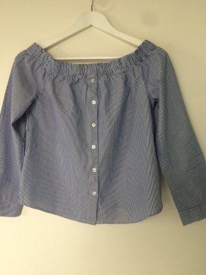 trendige schulterfreie Bluse