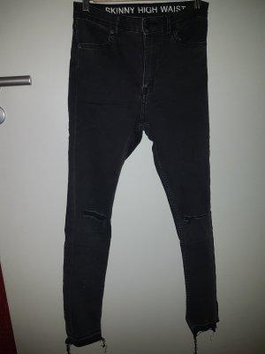 Trendige Skinny-Jeans