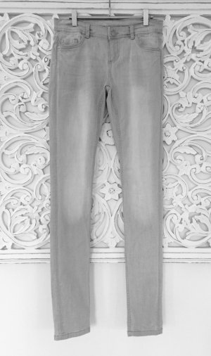 trendige Slim-Fit Jeans von PROMOD * hellgrau * Gr. S 34-36 * NEU!