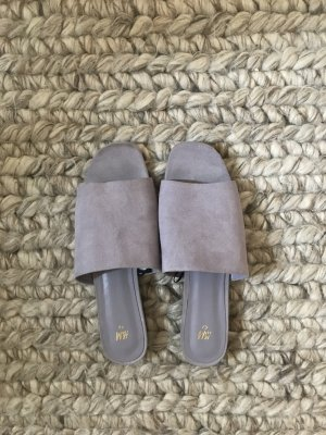 H&M Mules purple