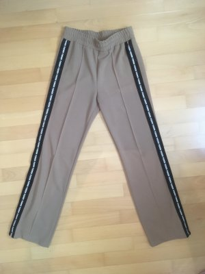 Stretch Trousers sand brown synthetic fibre