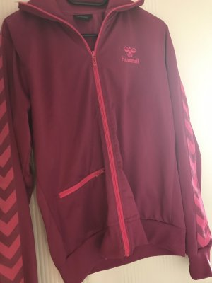 Hummel Giacca sport rosso lampone-rosa