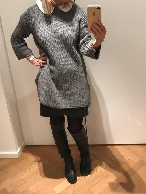 Jersey holgados gris oscuro Lana