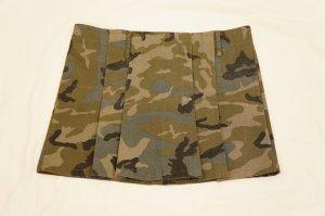 Trendiger Minirock mit Camouflage-Print