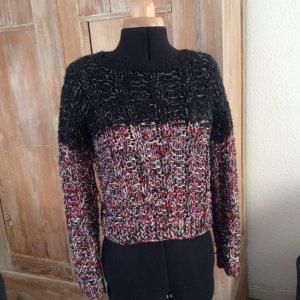 Topshop Pullover a maglia grossa multicolore Poliestere
