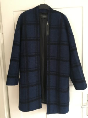 Esprit Oversized Coat black-blue wool